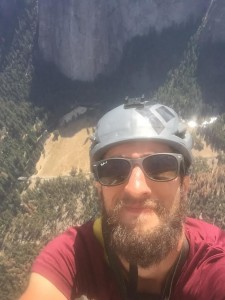 Selfie from the summit of El Capitan